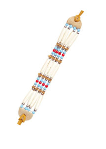 bracelet indien, accessoires d'indien, bracelet de déguisement, bracelet indien danse de la pluie, accessoires indienne pas cher, bijoux indiens, faux bijoux pour indiens, Bracelet Indien à Perles