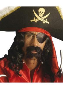 cache oeil de pirate, accessoire déguisement pirate, bandeau pirate déguisement, cache oeil déguisement pirate, accessoire déguisement, accessoire pirate, Cache Oeil de Pirate