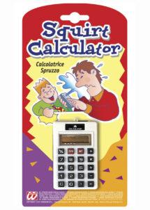 calculatrice lance eau, farces et attrapes, farce et attrappe, Calculatrice Lance Eau