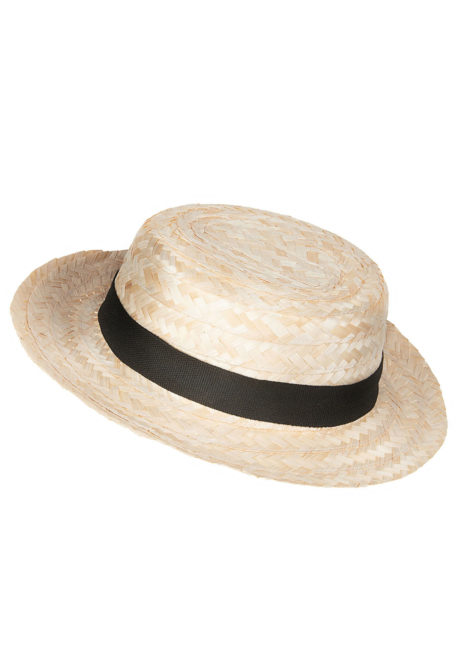 canotier, chapeau canotier, canotiers en paille, canotier paris, chapeaux canotiers, Canotier, Chapeau de Paille