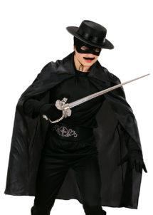 cape noire enfant, cape noire halloween enfant, cape de zorro pour enfant, Cape Noire, Enfant