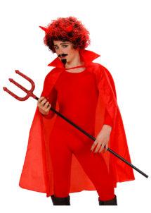 cape rouge pour enfant, cape rouge déguisement, cape déguisement halloween, cape diable enfant déguisement, cape halloween déguisement diable, cape halloween enfant, Cape Rouge, Enfant, 100 cm