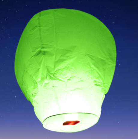 lanterne volante, lanterne thaïlandaise,lanterne chinoise, lampion volant, lanterne volante sky lantern, lanterne volante asiatique, lanterne volante pour lâcher de lanterne Lanternes Volantes, Multi x 6