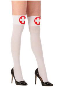 chaussettes infirmière, bas infirmières, accessoire sexy, infirmière sexy, Bas d'Infirmière, Croix Rouge