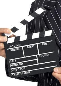 clap de cinéma, faux clap de cinéma, décoration thème cinéma, accessoire thème cinéma, Clap de Cinéma