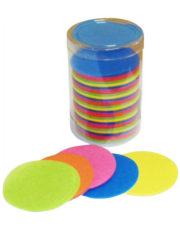 confettis de scène, confettis papier de soie, gros confettis, confettis de scène ronds Confettis de Scène, Ronds, Multicolores