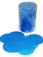 confettis de scène, confettis papier de soie, gros confettis, confettis de scène ronds Confettis de Scène, Ronds, Bleu Turquoise