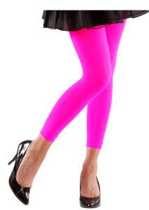 legging déguisement, accessoire déguisement, legging orange, leggings roses fluo, accessoire fluo, Legging, Rose Fluo