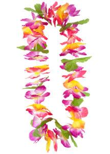 collier hawaïen, collier hawaï, collier de fleurs hawaïen, collier de fleurs hawaï, collier de fleurs hawaïen pas cher, Collier de Fleurs Hawaïen, Multicolore
