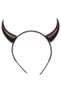cornes de diable, accessoire déguisement halloween, accessoire diable déguisement, cornes de diables halloween, Cornes de Diable, Noires