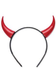 cornes de diable, accessoire déguisement halloween, accessoire diable déguisement, cornes de diables halloween, Cornes de Diable, Rouges