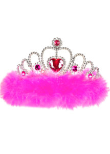 couronne de miss, couronne bride to be, couronne de fée, couronne de princesse, Couronne de Miss, Plumes Roses