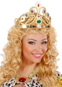 couronne de reine, couronne de reine plastique, Couronne de Reine