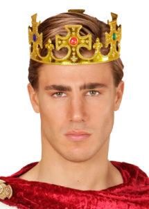 couronne de roi, couronne de roi plastique, Couronne de Roi, Pierres