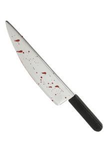 faux couteau, couteau de boucher factice, arme factice, fausses armes, faux couteau de déguisement, armes de déguisements, fausses armes, faux couteau de boucher, couteau de boucher en plastique, faux couteau sanglant, faux couteau ensanglanté, fausse arme halloween, Couteau Eclaboussé de Sang