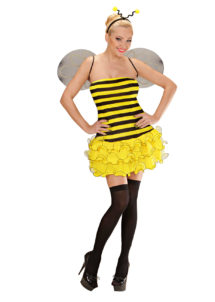 déguisement d'abeille, déguisement abeille femme, déguisement femme abeille, déguisement insecte femme, costume d'abeille pour femme, déguisement abeille adulte, Déguisement Abeille, avec Ailes