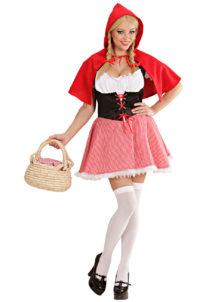 déguisement de chaperon rouge, costume chaperon rouge adulte, déguisement chaperon rouge femme, costume chaperon rouge femme, déguisement héros d'enfance, Déguisement Chaperon Rouge