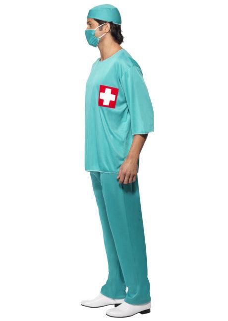 déguisement de chirurgien, déguisement chirurgien homme, costume chirurgien, Déguisement de Médecin, Chirurgien Croix Rouge