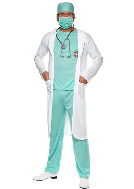déguisement de chirurgien, déguisement chirurgien homme, costume chirurgien, déguisement urgentiste, Déguisement de Médecin, Chirurgien avec Blouse