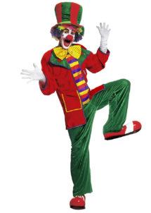 déguisement clown homme, costume clown homme, déguisement clown adulte, accessoire clown déguisement, Déguisement Clown Auguste
