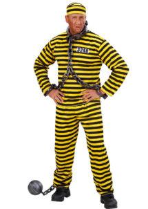 déguisement de dalton, déguisement dalton adulte, costume dalton prisonnier, déguisement prisonnier, déguisement prisonnier américain, costume de dalton adulte, Déguisement Dalton