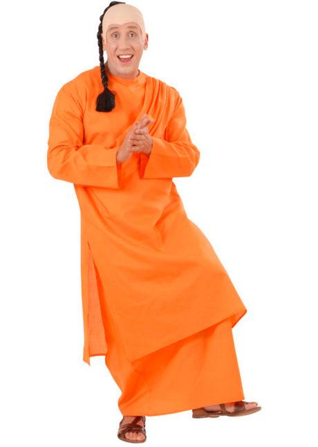 déguisement de moine bouddhiste, costume de bouddhiste, Déguisement de Moine Bouddhiste