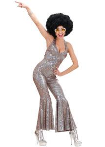 déguisement disco femme, déguisement femme disco, costume disco femme, costume disco combinaison, combinaison disco déguisement, déguisement années 80 femme, costume années 80 femme, Déguisement Disco Dancing Queen, Combinaison