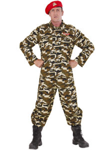 déguisement militaire, déguisement militaire adulte, déguisement de militaire, costume de militaire, déguisement militaire homme, déguisement de GI, Déguisement Militaire, GI