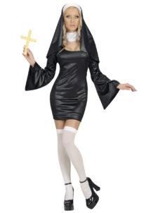 déguisement de nonne gothique, déguisement bonne soeur femme, costume bonne soeur femme, costume nonne femme, costume religieuse déguisement femme, déguisement religieuse sexy, déguisement de bonne soeur sexy, Déguisement de Bonne Soeur, Nonne Sexy