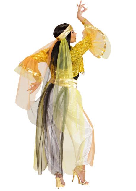 déguisement de danseuse orientale femme, costume jasmine femme, déguisement jasmine femme, costume danseuse orientale déguisement femme, déguisement femme orientale, Déguisement Danseuse Orientale, Or