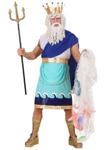déguisement poseidon, déguisement dieu grec adulte, costume dieu grec, costume zeus adulte, déguisement zeus adulte, déguisement grec homme, Déguisement Dieu Grec, Poséidon