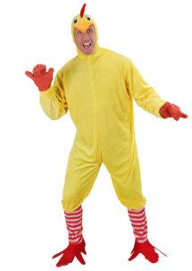 déguisement de poulet, déguisement poulet homme, déguisement animal homme, déguisement adulte animaux, costume de poulet, Déguisement de Poulet, Combinaison avec Chaussettes