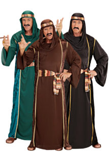 déguisement de prince arabe, déguisement oriental, déguisement sheik arabe, costume sheik arabe, déguisement roi du pétrole, Déguisement Sheik Arabe, 3 Modèles