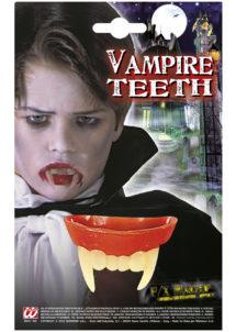 dentier de vampire, accessoire halloween, fausses dents halloween, faux dentier vampire halloween, déguisement halloween vampire, fausses dents halloween, fausses dents de vampire, Dentier de Vampire