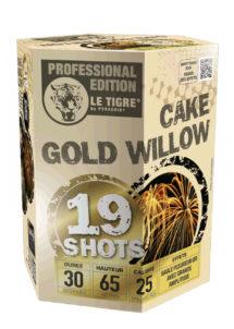 feu d'artifice gold willow, feux d'artifice automatiques, achat feux d'artifice paris, feux d'artifices compacts, feux d'artifices pyragric, Feux d'Artifices, Compacts, Cake Gold Willow