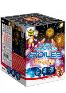 feu d'artifice visa pour les étoiles, feux d'artifices pyragric, feux d'artifices pour particulier, Feux d'Artifices Compacts, Visa pour les Etoiles
