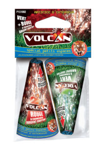 feux d'artifice de proximité, feux d'artifices volcans, achat feux d'artifice paris, feux d'artifices pyragric, volcan, fontaines, artifice jardin, Feux d'Artifices, Volcans, Volcan PM, Rouge ou Vert