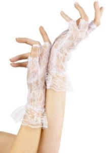 mitaines dentelle, gants en dentelle femme, gants blancs dentelle, gants mitaines dentelle blanche, Gants Mitaines, Dentelle Blanche