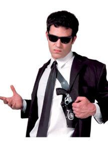 holster de police, étui à pistolets, étui à révolver déguisement, étuis pour armes factices, holsters, étui pistolet d'épaule, étuis de pistolets pour déguisements, Holster de Police