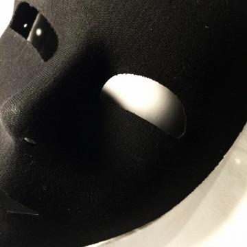 masque visage viso noir aux feux de la f te paris. Black Bedroom Furniture Sets. Home Design Ideas