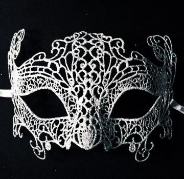 masque vénitien, loup vénitien, masque carnaval de venise, véritable masque vénitien, accessoire carnaval de venise, déguisement carnaval de venise, loup vénitien fait main, masque en dentelle, loup en dentelle venise Vénitien, Burano Dentelle Argent