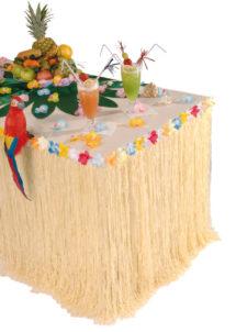 jupe de table hawai, décorations hawaïennes, décorations hawai, Jupe de Table, Hawaï