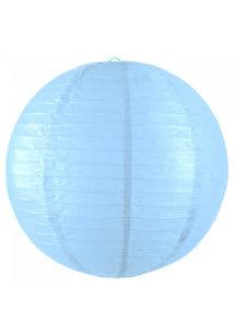 lampions, lampions boules, boules japonaises, lanternes, lampions en papier, lampions de décoration, Lampion Japonais, Boule Bleu Dragée