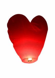 lanterne volante, lanterne thaïlandaise,lanterne chinoise, lampion volant, lanterne volante sky lantern, lanterne volante asiatique, lanterne volante pour lâcher de lanterne, Lanterne Volante, Coeur Rouge