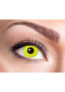 lentilles jaunes, lentilles halloween, lentilles fantaisie, lentilles déguisement, lentilles déguisement halloween, lentilles de couleur, lentilles fete, lentilles de contact déguisement, lentilles jaunes, Lentilles Jaunes, Yellow Crow