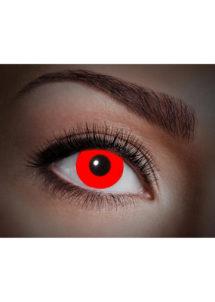 lentilles fluo, lentilles uv,lentilles halloween, lentilles fantaisie, lentilles déguisement, lentilles déguisement halloween, lentilles de couleur, lentilles fete, lentilles de contact déguisement, lentilles rouges fluos, Lentilles Fluos, UV Flash, Rouges