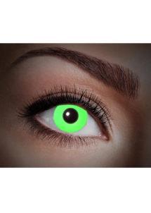 lentilles fluo, lentilles uv,lentilles halloween, lentilles fantaisie, lentilles déguisement, lentilles déguisement halloween, lentilles de couleur, lentilles fete, lentilles de contact déguisement, lentilles vertes fluos, Lentilles Fluos, UV Flash, Vertes
