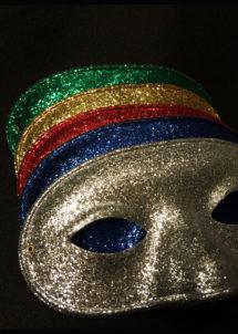 masque vénitien, loup vénitien, loup paillettes, masques paillettes, masques carnaval, Loup Happy Day