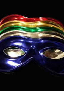 masque vénitien, loup vénitien, loup de carnaval, masque de carnaval, loup brillant, Loup Métal, Rio