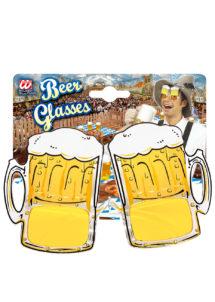 lunettes bière, lunettes chopes de bière, lunettes saint patrick, lunettes Oktoberfest, lunettes fête de la bière, Lunettes Chopes de Bière
